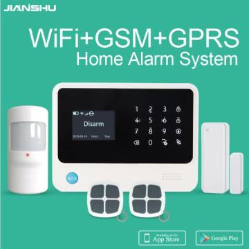 Free shipping from Spain g90b plus 3g gsm wifi smart home burglar alarm system APP control intruder alarm kit from Spain