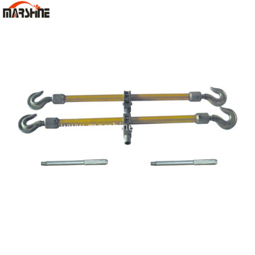 Dual-Hook Aluminum Alloy Turnbuckle