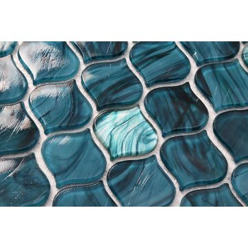 Green tears Tiles Special Tile Raindrop Mosaic