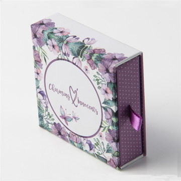 Custom Printing Luxury Hard Recycled Drawer Boxes