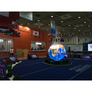 P5 Indoor 1m diameter sphere led display