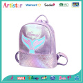 Mermaid purple laser backpack
