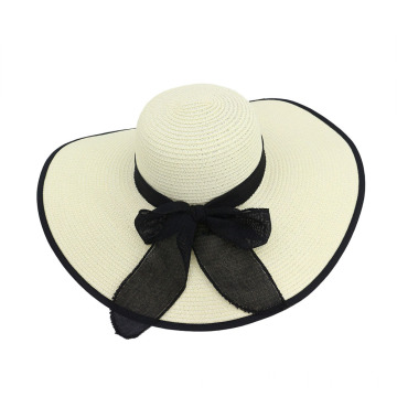 Large brim top cover cap summer straw hat