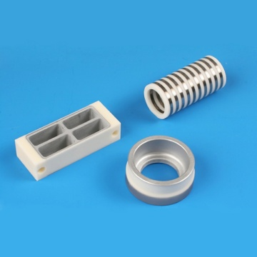High Precision e Ikemetseng ea Metallized Ceramic Insulator