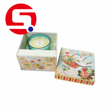 Luxury Elegant Round Cardboard Candle Box Wholesale