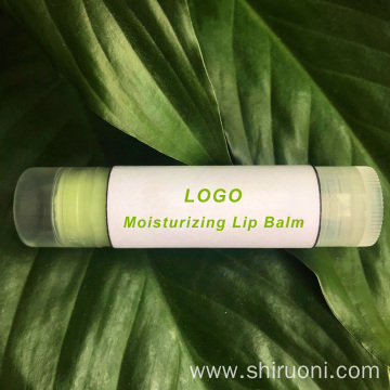 Organic Fruit Lip Balm Chapstick Tubes Private Label