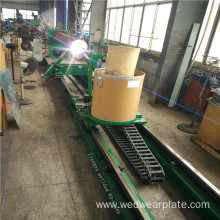 wear Straight tube surfacing machine