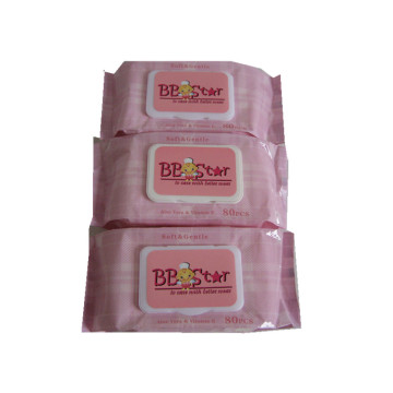 Non Alcohol Economic Sterile Baby Wipes