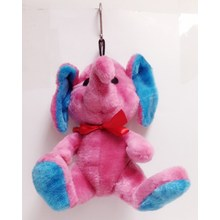 Pink elephant pet toy