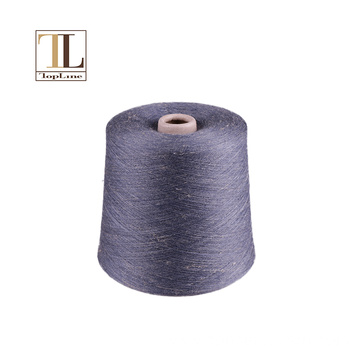 Topline soft and cool wool linen blend yarn