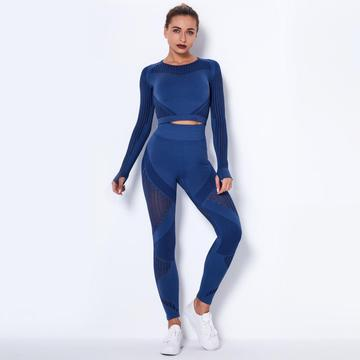 Newest Women Seamless yoga set