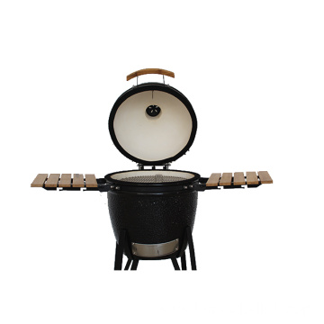 Big Black Ceramic Kamado Joe