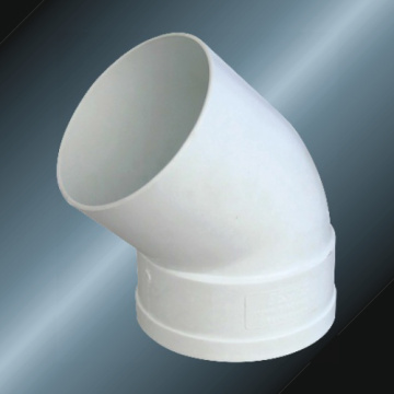 PVC Fitting 45 Degree Elbow M/F for Drainage