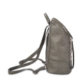 New Popular Crocodile Ladies Backpack with Front Zip