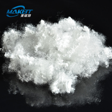 Nonwoven 1.4D Solid Polyester Staple Fiber PSF Price