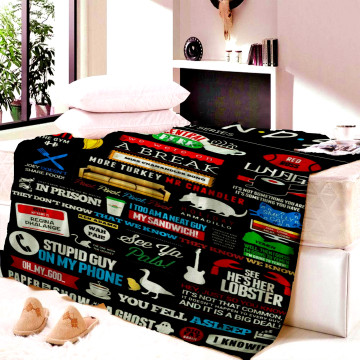 Friends Central Perk Blanket Child Mat Soft Warm Bedspread Beach Travel Home Table For Adults Boys Girls Gift