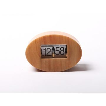 Small Egg Oval Mode Flip Clock