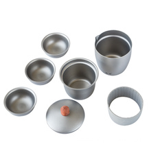 Kangtai Pure Titanium Tea Set