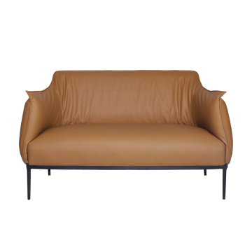 Modern Leather Archibald 2 Seater Lounge Chair