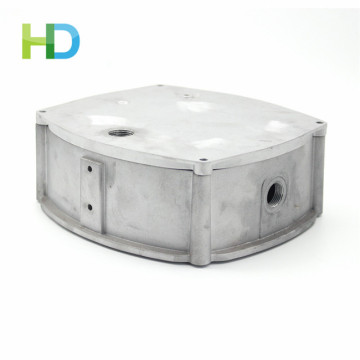 Polishing surface aluminum die casting lighting fixture