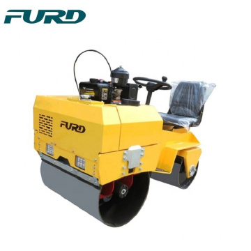 Ride On Double Drum Vibratory Road Roller For Asphalt  FYL-855