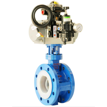 Fluorine Automatic Control Butterfly Valve