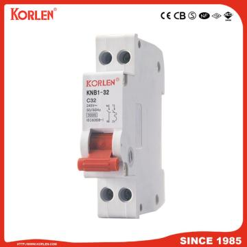 KNB1-32 Miniature Circuit Breaker 4.5KA 32A with CB