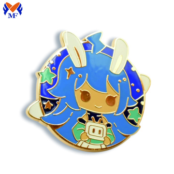 Metal Custom Enamel Pin Badge Hard