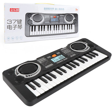 Portable Electronic Keyboard Piano Electronic Organ 37Key Music For Children Gift Musical Instrument Keyboard