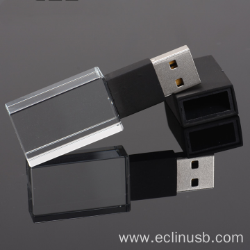 Black Glass USB Flash Drive
