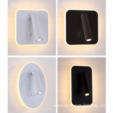 3+8W Reading Spot LED Wall Bedroom Lights