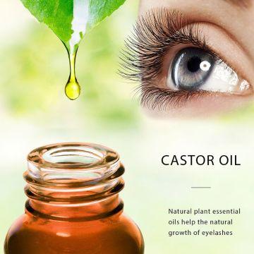 Castor Oil Eyelash Growth Serum Hair Enhancer Reduce Loss Cream for Eyebrow Q81B