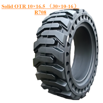 Industrial Off The Road Solid Tire 10×16.5 R708