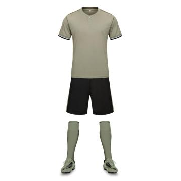 Training soccer jersey for men with stripe