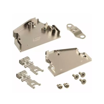 1.27mm Series Shielded Backshell Kits 68P Angled Exit