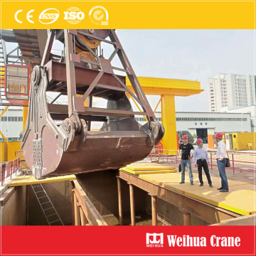 Double Girder Gantry Crane dengan Grab