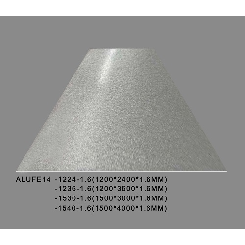 Metallic Flash Silver Aluminium Sheet