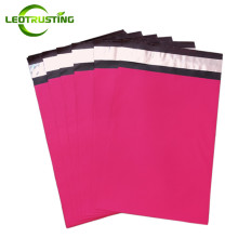 Thick Matte Rosy Red Tote Express Courier Bags Self-Sealing Deep Rose Plastic Poly Envelope Gifts Clothes Shoes Mailing Pouches
