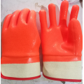 Safety Orange Foam Insulated PVC Fully Coated Gloves
