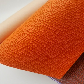 Embossed PU Synthetic Leather Fabric for Basketball Gloves