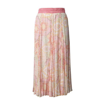 Female Boho Holiday Rayon Skirt Sun