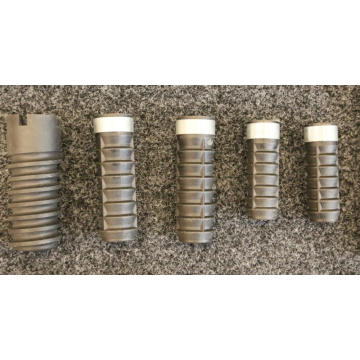 Railway Plastic screw Dowel