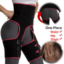 Waist Neoprene Body Shapewear agus Thigh Trimmer