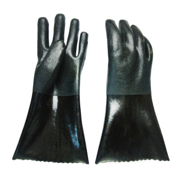 Black sand topped gloves 40cm