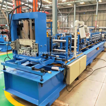 CZ  purlin in one roll forming machine