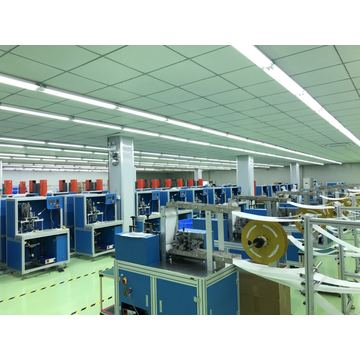 semi automatic mask production line