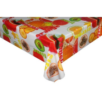 Pvc Printed fitted table covers Metre Long Tablecloths