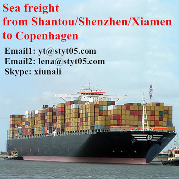 International shipping logistics from Shantou to Copenhagen