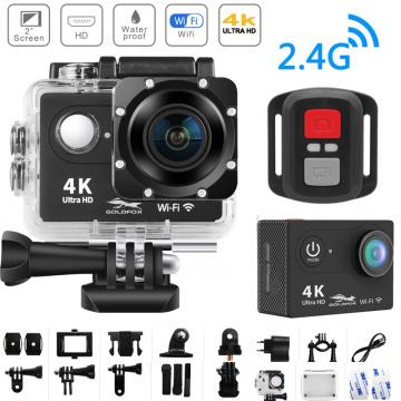 H9R 4K Action Camera Ultra HD WiFi 2 inch Screen 170D Go Waterproof Pro Camera Helmet Video Recording Action Sport Camera