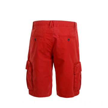 Hot Sale Quality Cargo Red Men's Shorts